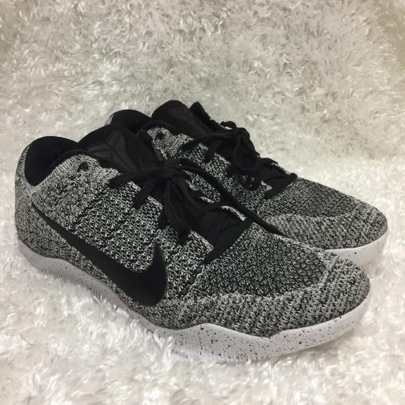 sports shoes 2b388 01e5b Nike Kobe 11 Elite Low Oreo Grey Black White Shoes.  M 5b1f1933c61777191d4259ea